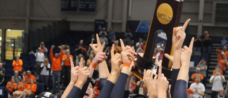 2014 NCAA Division III Women's Volleyball champions