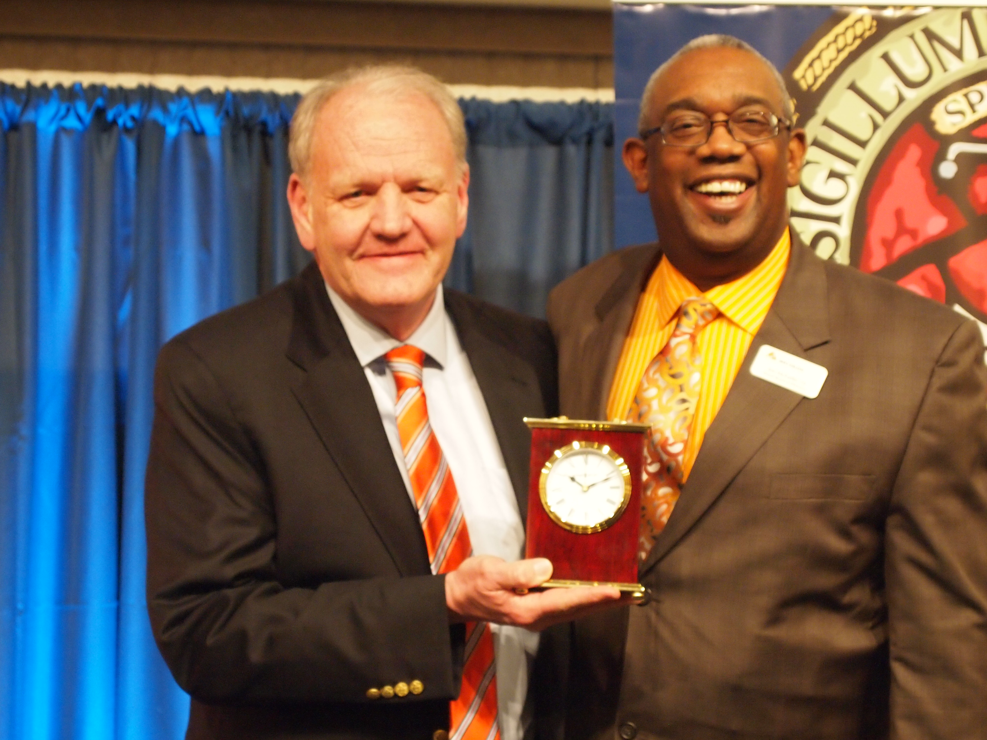 Hope College Meritorious Service Award recipient