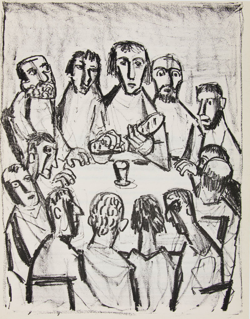 """The Last Supper"" Otto Dix"