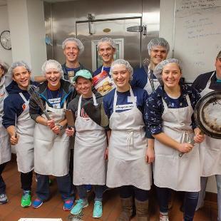 2017 Volunteer Services Serves