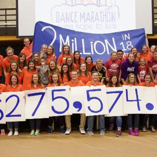 2016 Dance Marathon Totals