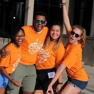 2016 Orientation Move In Day