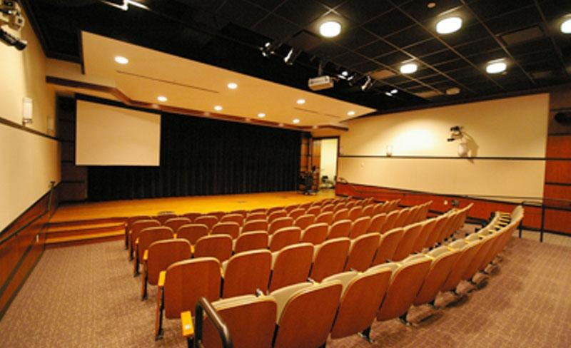Fried-Hemenway Auditorium offers an excellent space for speeches and presentations.