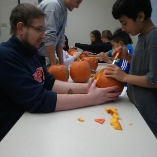 CASA Pumpkin Carving