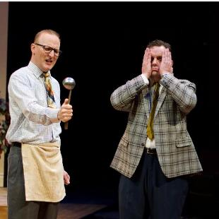 HSRT's production of The Odd Couple.