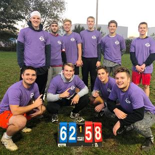 Men's Flag Football Champions