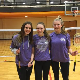 Fall 2018 Women's Badminton