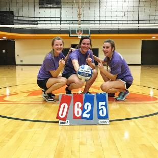 Women's Three-Player Volleyball Champions