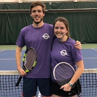 Fall 2018 Coed Doubles Tennis: What's With All the Racket? defeated Rhoda's Rebels
