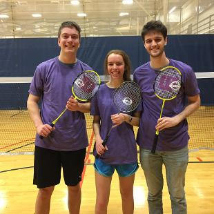 Fall 2018 Coed Badminton: Drop Top Flop Shop defeated Last Chance at Glory