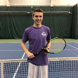 Fall 2018 Men's Singles Tennis: Jacob Willemson defeated Matthew Werkman