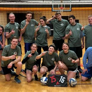 Spring 2019 Less Competitive Coed Volleyball