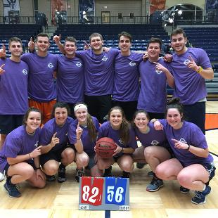 Fall 2018 More Competitive Coed Basketball: Screemin' Meemies defeated Melbeasts