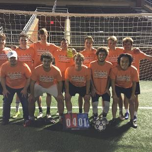 Fall 2019 Men's Less Competitive Soccer Champions: Durf F.C.