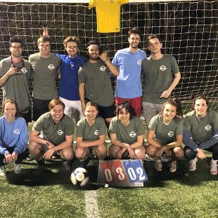 Spring 2019 Less Competitive Coed Soccer