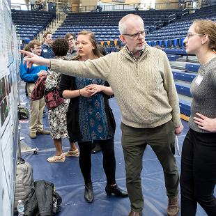 Hope's Celebration of Undergraduate Research and Creative Activity is a culminating event for many students to showcase their work to students, faculty, family and community members.