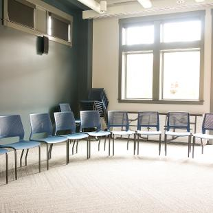 Campus Ministries seminar room