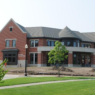 Campus Ministries building exterior