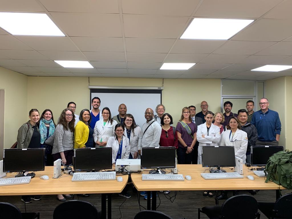 USFQ-Hope Global Health Collaborative group photo