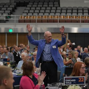 The inaugural Business Luncheon at the Holland Civic Center on September 19, 2019.