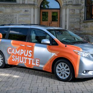 Campus Shuttle ban