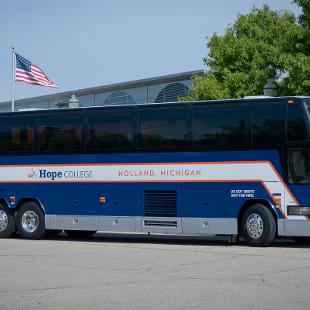 Hope College bus