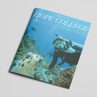 News from Hope College cover