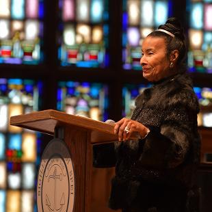 Keynote Speaker Xernona Clayton speaks