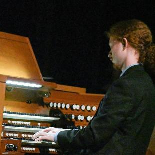 "Noah Jacobs plays ""Fanfare"" by Jaques-Nicolas Lemmens on the organ."