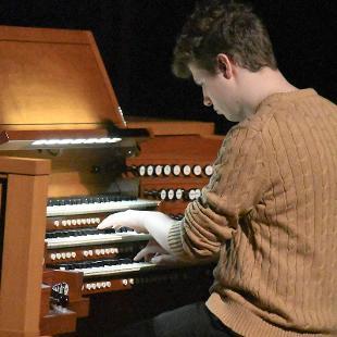 "Organist Timothy Nechuta plays ""Trio Sonata in G Major BWV 530 by J.S. Bach."