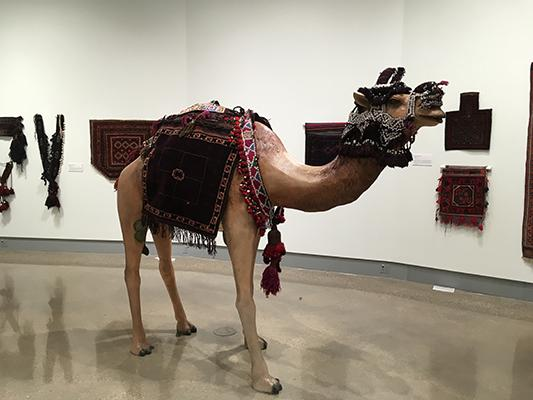 """Artworks from the Kruizenga Art Museum """"Once Were Nomads"""" exhibition"""