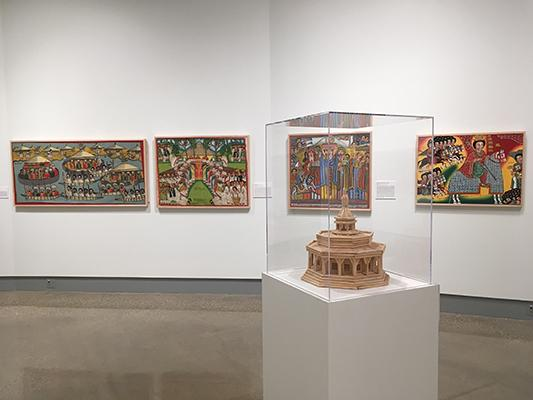 """Artworks from the Kruizenga Art Museum """"Living Tradition"""" exhibition"""