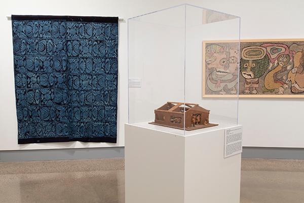 """Artworks from the Osogbo Movement on display in the exhibition """"Resilience, Resistance and Revival in 20th-Century Yoruba Art"""""""