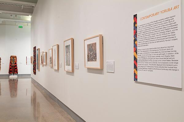 """Contemporary Yoruba artworks on display in the exhibition """"Resilience, Resistance and Revival in 20th-Century Yoruba Art"""""""