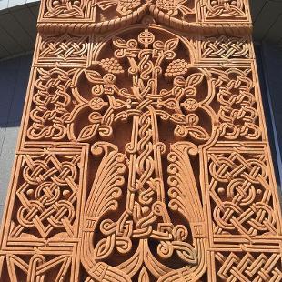 Cross Stone (Khachkar) by Artak Hambardzumyan
