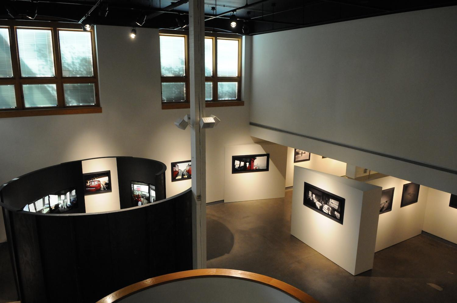 Overview of the gallery and wheelhouse.