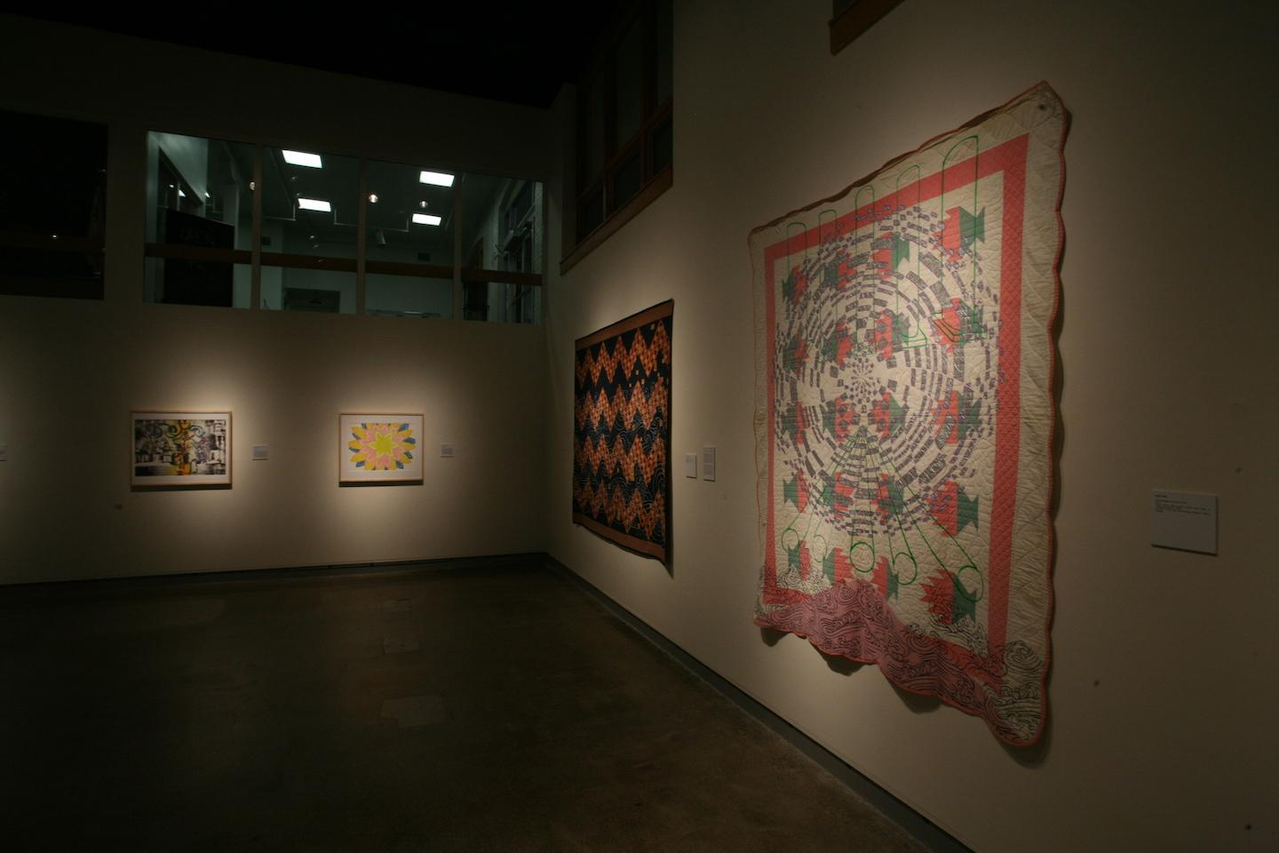 "Overview of artwork from the show ""Hateful Things 