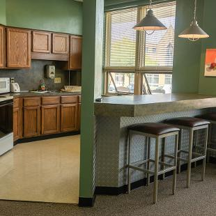 The kitchen area for Durfee Hall