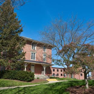 Exterior front of Van Vleck Residence Hall