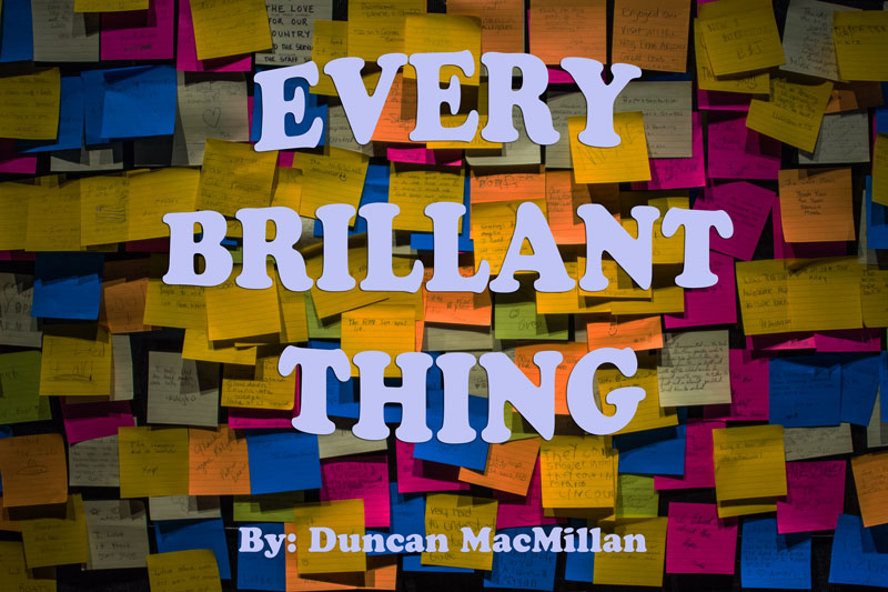 Every Brilliant Thing art
