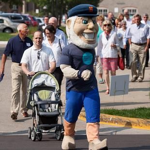 Jim and Martie Bultman Student Center Groundbreaking. Photo by Steven Herppich on August 31, 2015