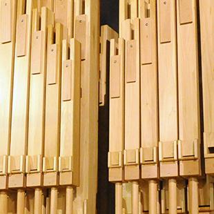 More organ pipes added onto the starting layer.