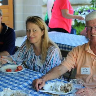 Sesquicentennial Kick-off Faculty and Staff Family Picnic celebrating 150 years of Hope College. Photo by Amy Van Dommelen on July 29, 2015