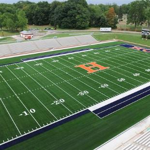 The field at Ray and Sue Smith Stadium