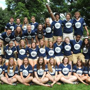 Orientation Staff including Orientation Directors and Assistant Directors.  Photo taken by Tom Renner on August 27, 2015