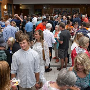 Alumni Parents Reception. Photo taken by Steven Herppich on August 29, 2015.