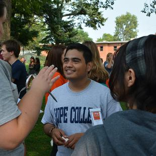 Activities Fair by Mitchell Conrad. Taken on August 31. 2015