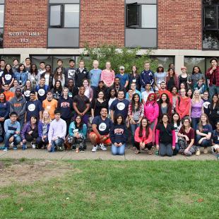 Phelps Scholars Program Participants. Photo taken by Steven De Jong on August 29, 2015.