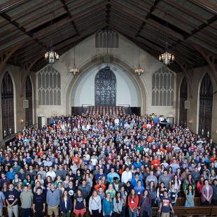 Class of 2019. Photo taken by Steven De Jong on August 29, 2015.
