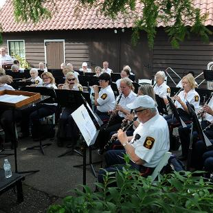The Holland American Legion Band performing under the direction of Thomas Working.